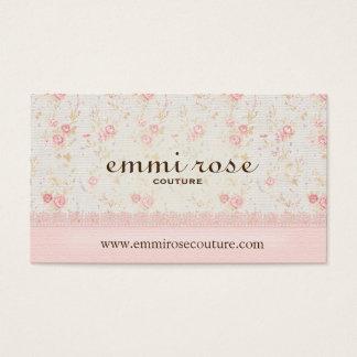 Imitat-Leinen-und Spitze-köstliche Visitenkarten
