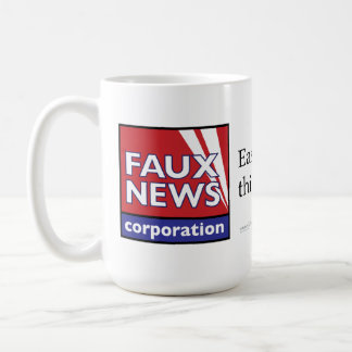 Imitat-Nachrichten: Einfacher als denkend Kaffeetasse