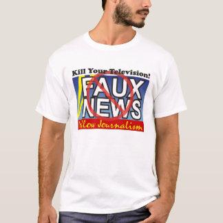 Imitat-Nachrichten T-Shirt