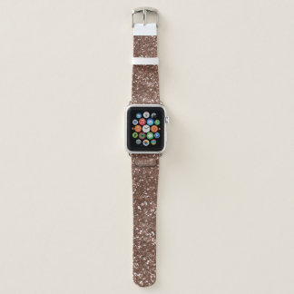 Imitat-Rosen-GoldGlitzer-Apple-Uhrenarmband Apple Watch Armband