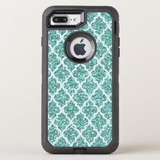 Imitat seafoam Glitter iPhone 7 Plusfall OtterBox Defender iPhone 8 Plus/7 Plus Hülle