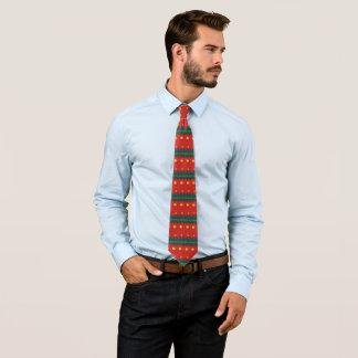 Imitat strickte hässliches Weihnachtsnostalgischen Krawatte