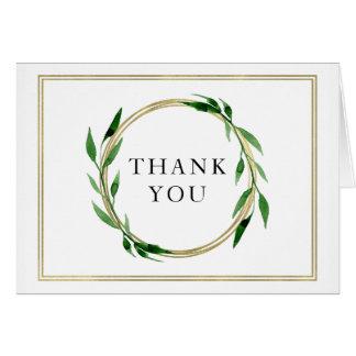 Imitatdanken goldene Wreath-Hochzeit Ihnen zu Karte
