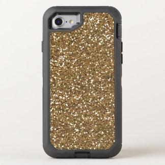 ImitatgoldGlitter, der 7 quatrefoil otterbox bling OtterBox Defender iPhone 8/7 Hülle