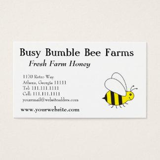 Imker-Bauernhof-Honig-Hummel-Biene Visitenkarte