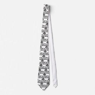 Immer auf dem Ball Krawatte