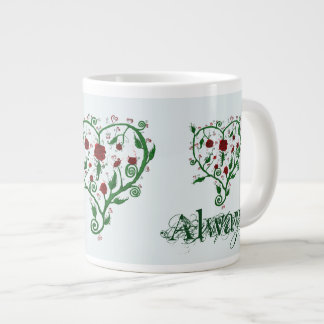 Immer Liebe Jumbo-Tasse