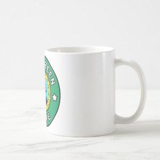 Immergrüne Staats-Tasse Washingtons Kaffeetasse