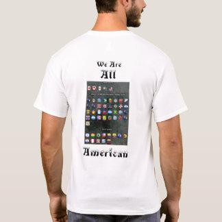 Immigranten Amerikaner T-Shirt