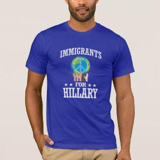 IMMIGRANTEN FÜR HILLARY T-Shirt