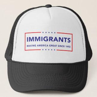 Immigranten Truckerkappe