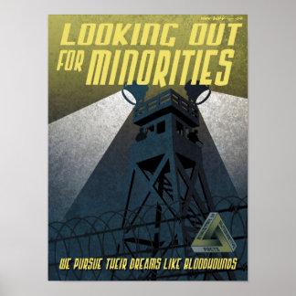 Immigrations-Propaganda-Plakat Poster