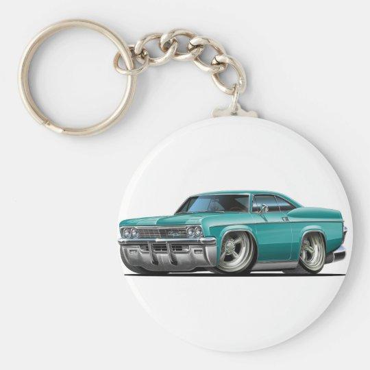 Impala-aquamarines Auto 1965-66 Schlüsselanhänger