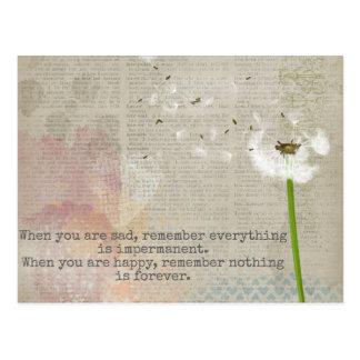 Impermanence - Postkarte