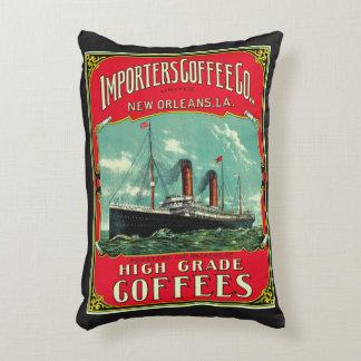 Importeur-Kaffee Zierkissen