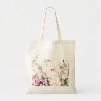 Impression de sac australien de fleurs sauvages