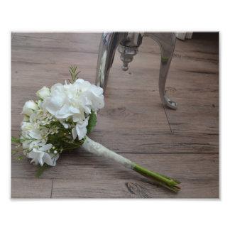 Impression Photo La copie de beaux-arts du bouquet de la jeune