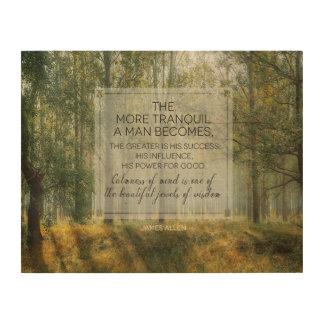 Impression Sur Bois Beaux bijoux de la sagesse par James Allen