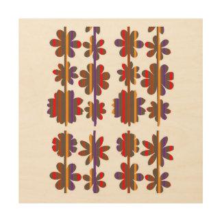Impression Sur Bois Graphiques en bois de mur de match de toile par
