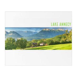 Impressions En Acrylique Acrylique d'Annecy de lac