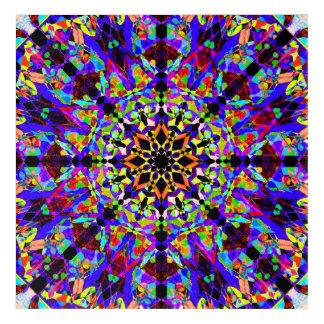 Impressions En Acrylique Mandala de mosaïque
