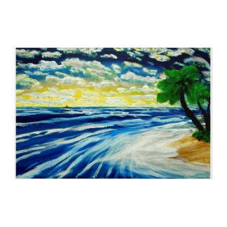 Impressions En Acrylique Rêves d'océan