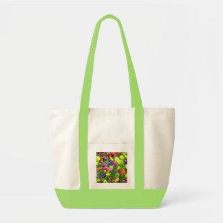Impressions florales sac en toile impulse