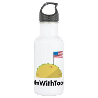#ImWithTacos Wasser-Flasche Trinkflasche