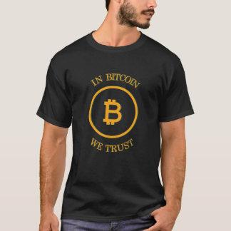 In Bitcoin vertrauen wir - BTC T-Shirt