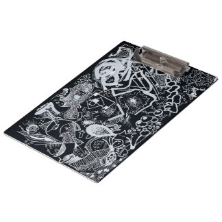 In Black/Mappe mit Zange