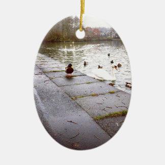 In dem Loch Keramik Ornament