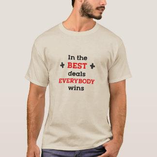 In den besten Abkommen gewinnt jeder T-Shirt