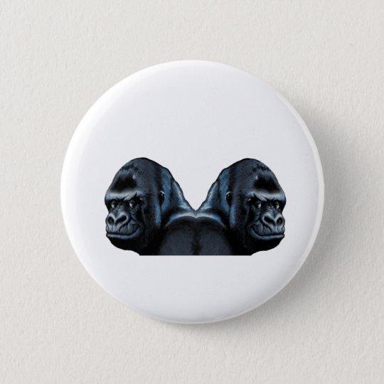 In den Nebel Runder Button 5,7 Cm