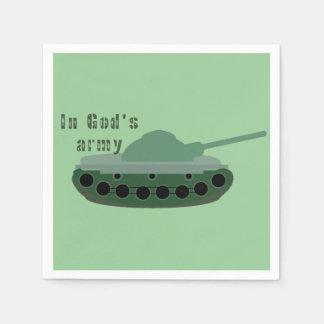 in der Armee des Gottes (Behälter) Papierserviette