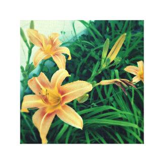 In der Blüte Leinwanddruck