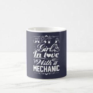 In der Liebe mit einem Mechaniker Kaffeetasse