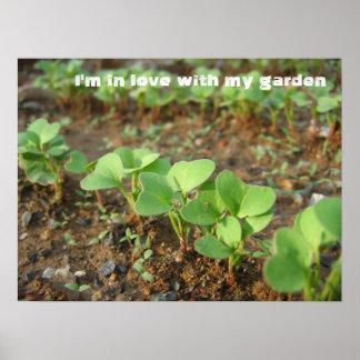In der Liebe mit Garten - Poster