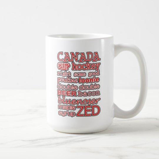 In der Mischungs-Kanada-TagesTasse Tasse
