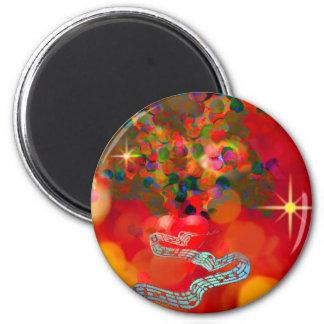 In derzeit unseren Herzen seien Sie von der Freude Runder Magnet 5,1 Cm