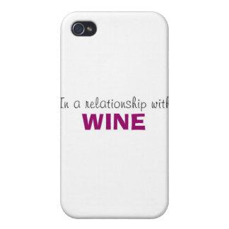 In einem Verhältnis zum Wein iPhone 4/4S Cover
