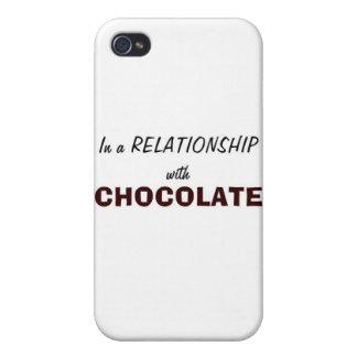 In einem Verhältnis zur Schokolade Hülle Fürs iPhone 4
