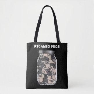 In Essig eingelegte Mops-Taschen-Tasche Tasche