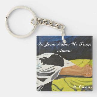 In Jesus-Namen beten wir. Amen Schlüsselkette Schlüsselanhänger