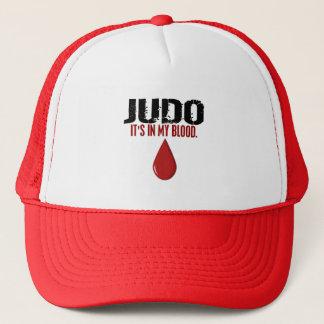 In meinem Blut JUDO Truckerkappe