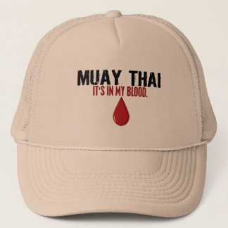 In meinem Blut MUAY THAILÄNDISCHEN Truckerkappe