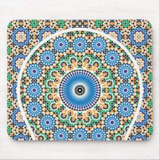 In Mosaik geschmückter Teppich Mousepad