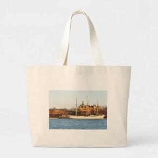 In Stockholm segeln, Schweden Jumbo Stoffbeutel