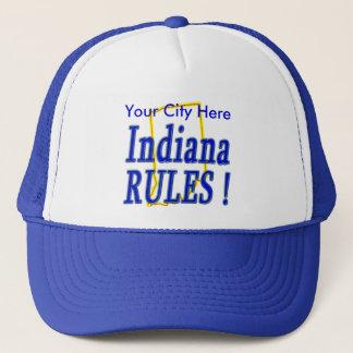 Indiana-Regeln! Truckerkappe