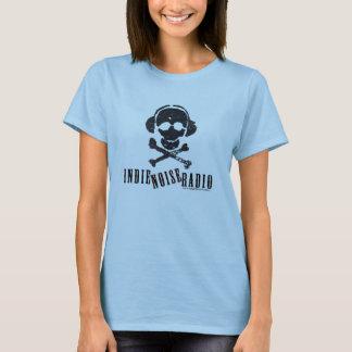 Indie Geräusch-Radio-T-Stück (Frauen) T-Shirt