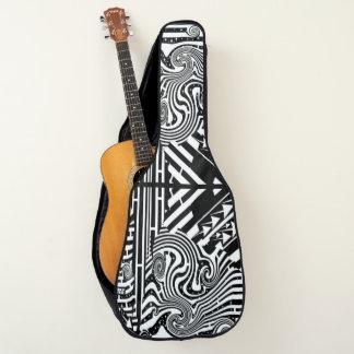 Indie Handwerker-abstraktes alternatives Gitarrentasche
